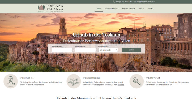 www.toscana-vacanza.de